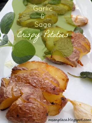 Garlic & Sage Crispy Potatoes