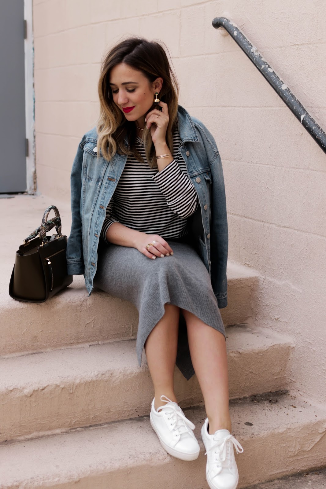 red lip, red lipstick, perfect red lipstick, revlon, dc, style, blog, blogger, outfit, inspiration, blogs, striped shirt, who what wear, target, sandro, topshop, henri bendel bag