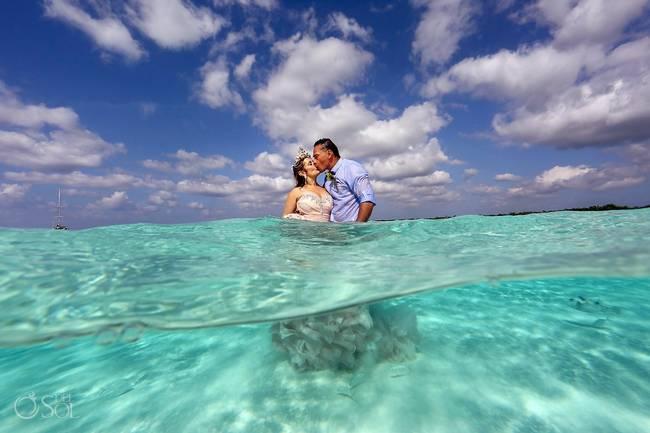 incrivel casamento realizado no mar no caribe 08 - Um casamento no meio do mar. Diferente de tudo que você já viu.