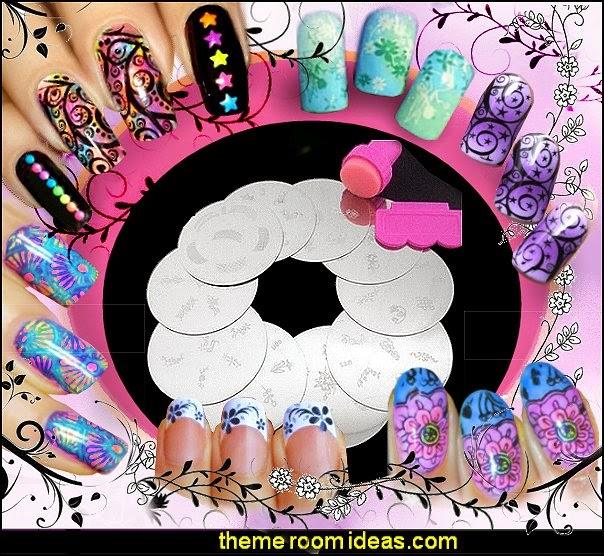 nail stamps - nail stamp designs - nail stamping - nail art