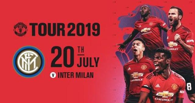 Manchester United vs Inter Tur Pramusim 2019 di Singapura