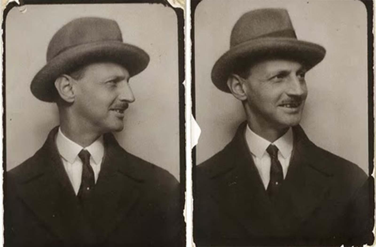 Anne Frank's father, Otto.