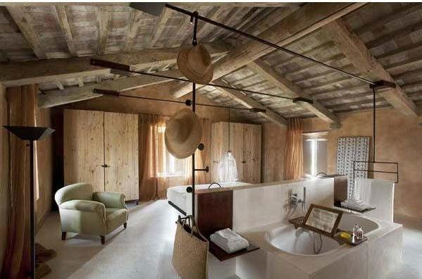 Habitaciones rústicas   dormitorios colores y estilos