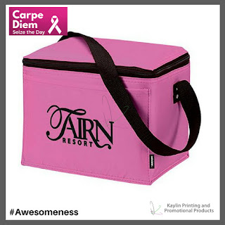 Promotional Pink Lunch Totes