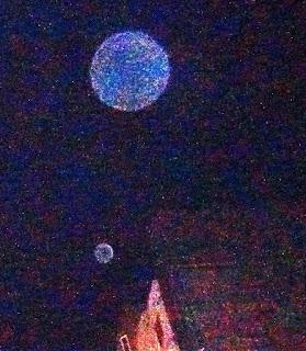 sky weirdness