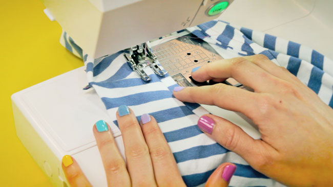 Learn to Sew Jersey Tops - online workshop from Tilly and the Buttons