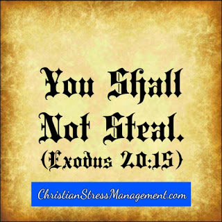 You shall not steal (Exodus 20:15)
