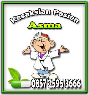 testimoni asma, kesaksian asma, pasien sembuh asma, obat asma, penderita asma