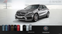 Mercedes AMG GLA 45 4MATIC 2015 màu Xám Mountain 787