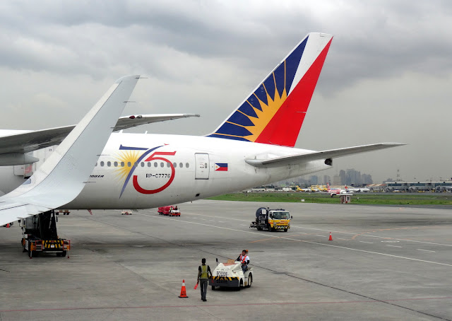 Philippine Airlines in NAIA 2 Centennial
