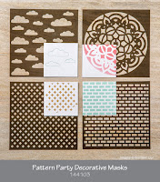 Pattern Party Decorative Masks