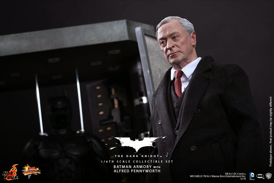 gadget uniforme hot toys batman