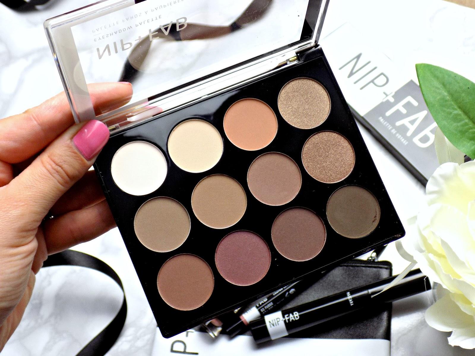 Nip & Fab Makeup Eyshadow Palette