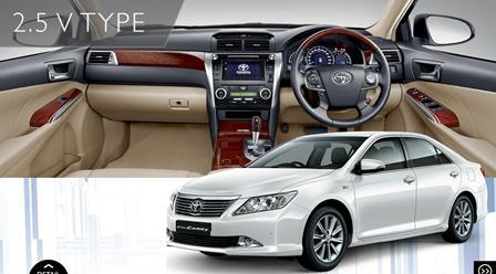 Promo Kredit Toyota Camry Tipe V 2,5L A/T