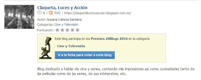 Premios 20Blogs 2017 - CLyA