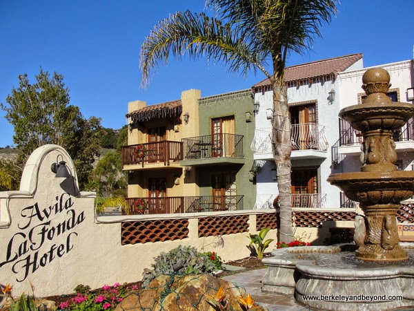 exterior of Avila La Fonda Hotel in Avila Beach, California