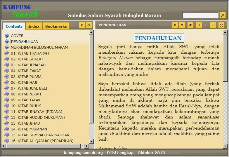 Ebook terjemahan subulussalam