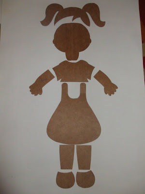 Confira vários Moldes em Eva de menina e menino para cartazes.