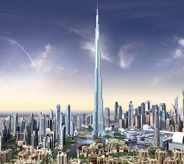 World Most Popular Places Burj Khalifa Dubai