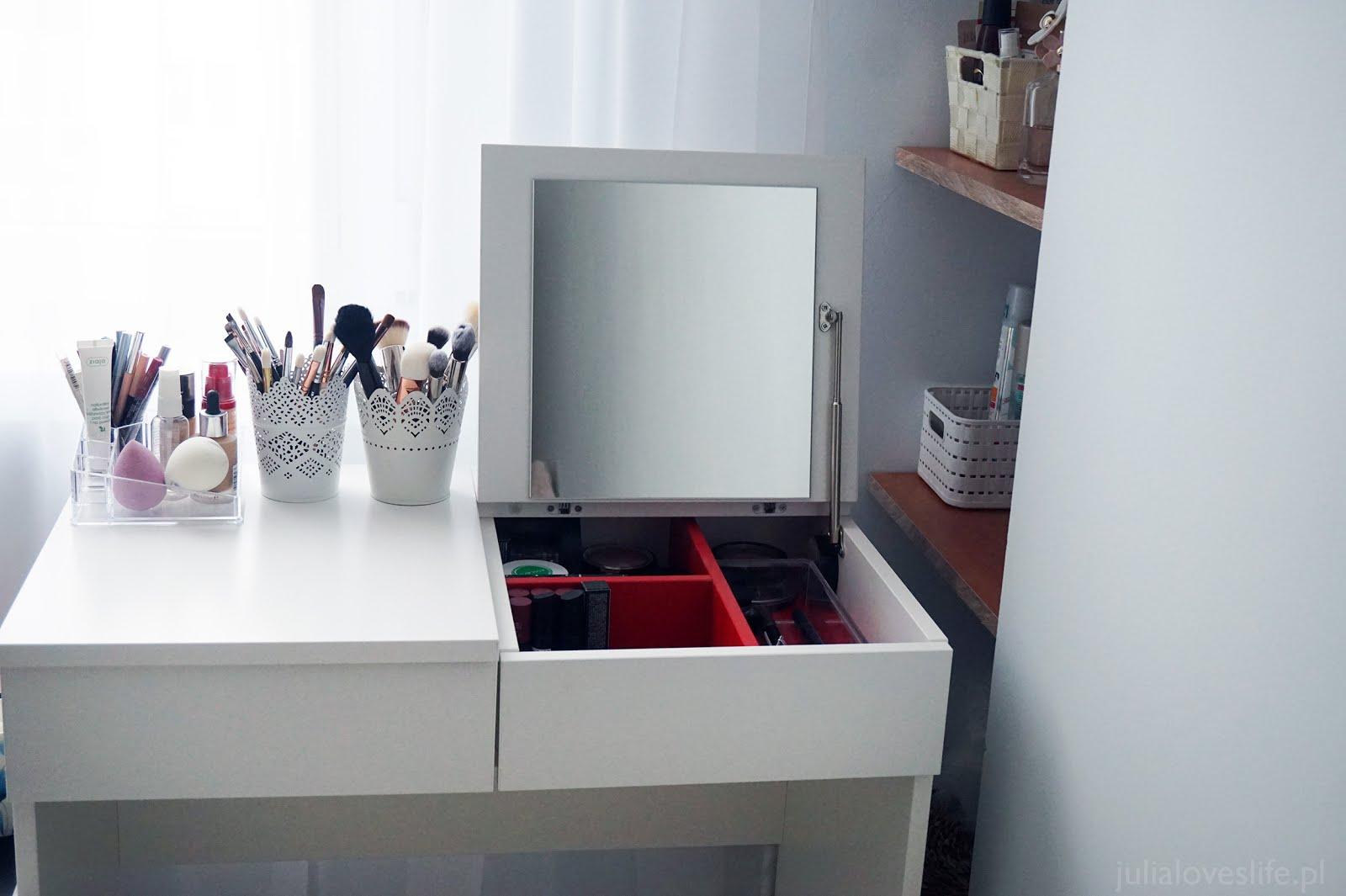 Ikea Life Moja Toaletka I Organizacja Kosmetyk 243 W Brimnes Ikea