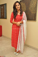 Anusuya in Red at Kalamandir Foundation 7th anniversary Celebrations ~  Actress Galleries 038.JPG