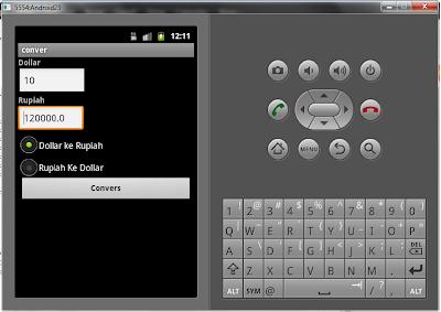 Membuat Aplikasi Android Sederhana Konversi Mata Uang