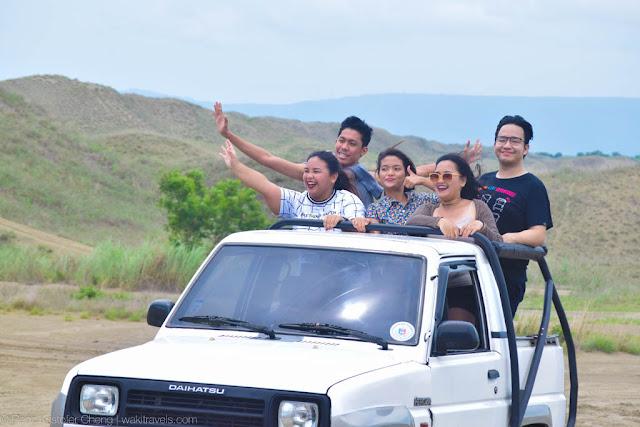 4x4 Ride in Ilocos Norte, Philippines