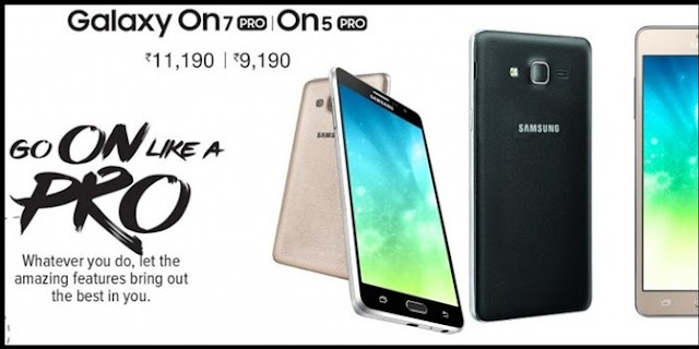 Spesifikasi dan Harga Samsung Galaxy On5 Pro dan On7 Pro
