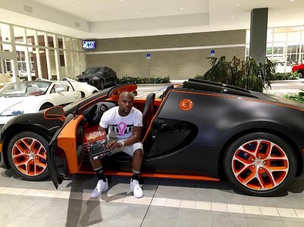 Floyd Mayweather vende sus dos Bugatti Veyron