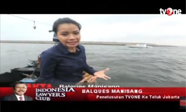 Detik-detik Reporter TV One Saat Dilarang Mendekati Kawasan Reklamasi