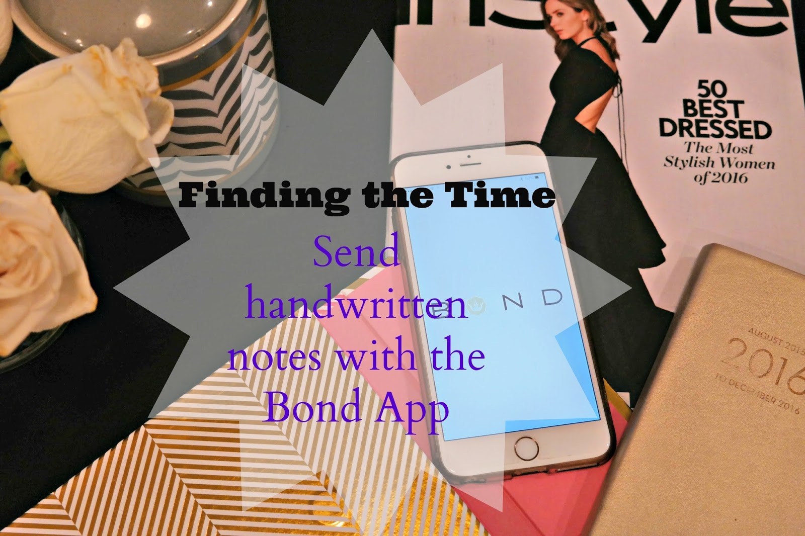 Bond App hand written notes
