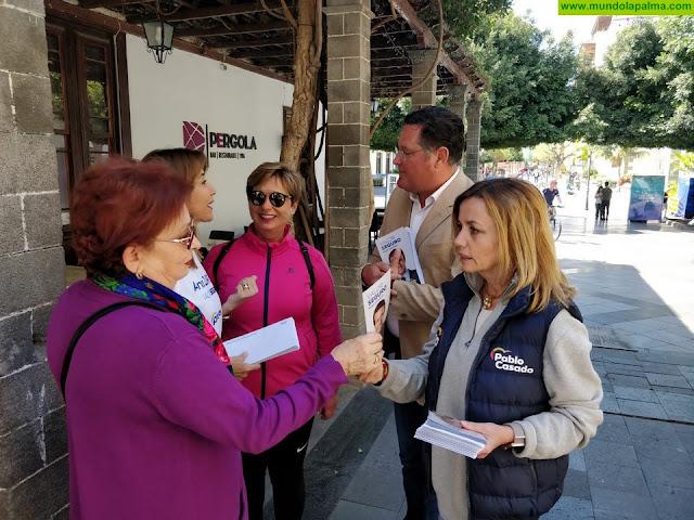 """Ana Zurita : """"El PP es un valor seguro para el turismo en La Palma y en Canarias"""""""