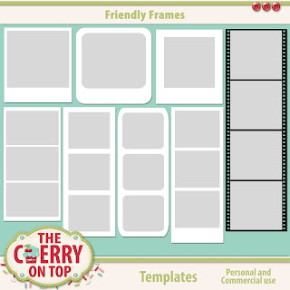 Friendly Frames Templates