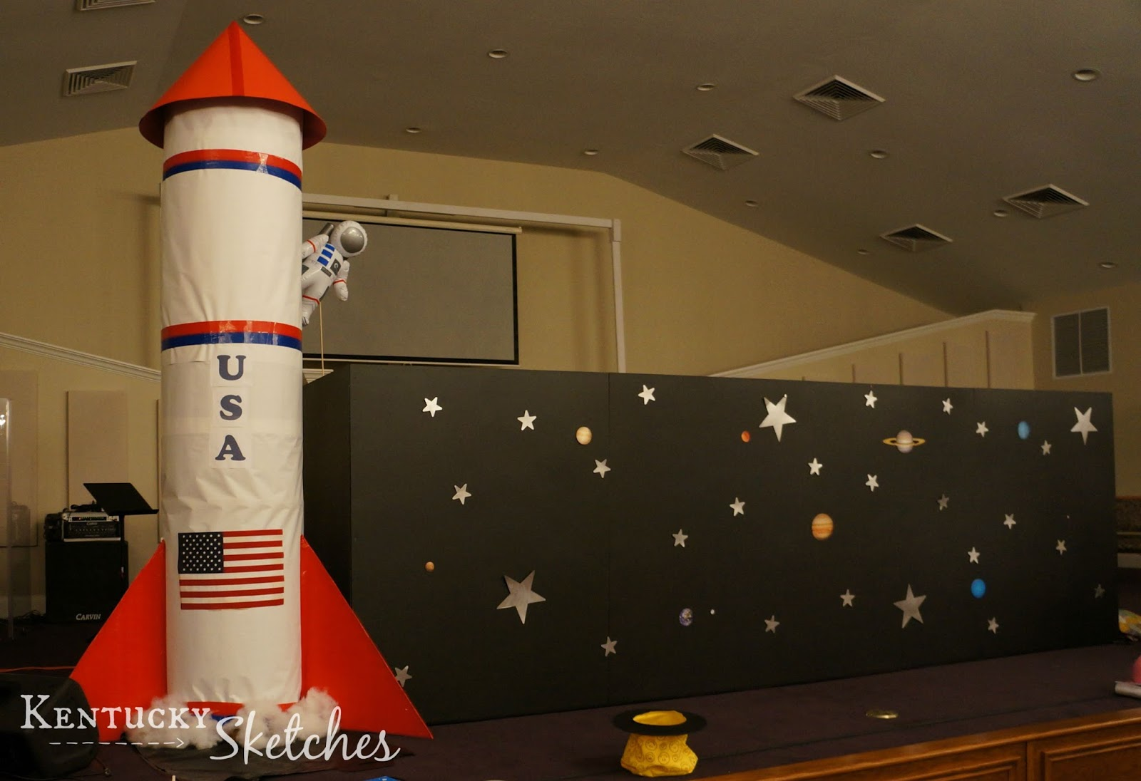 Ideas For The Space Themed Party Or Vbs
