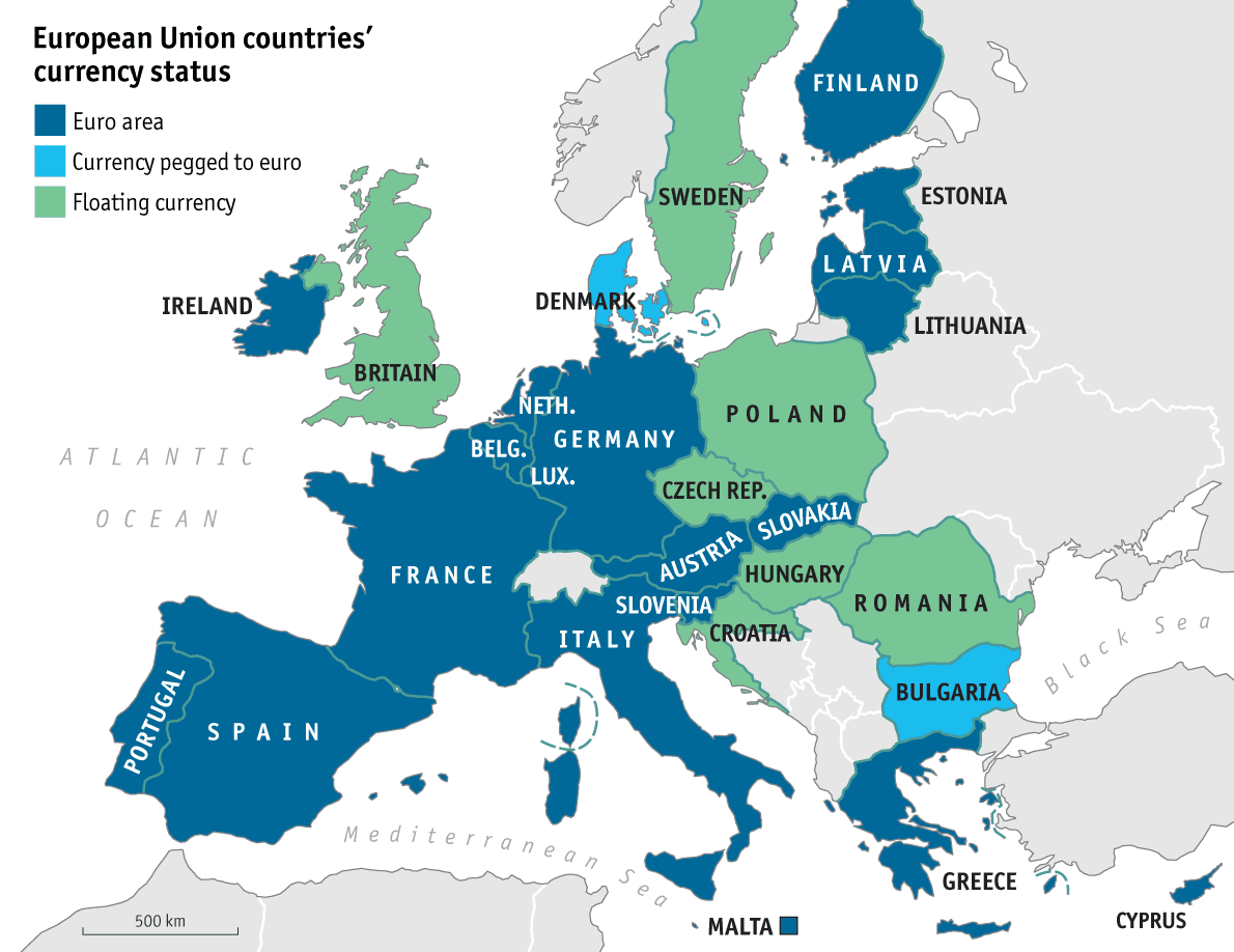 size comparison the united states versus the european union by square kilometres this is the european union as of july this year with croatia as its