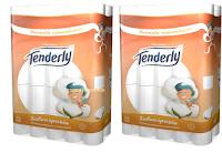 Logo Tenderly Triple Soft : 100 rotoli con lo sconto del 74% !