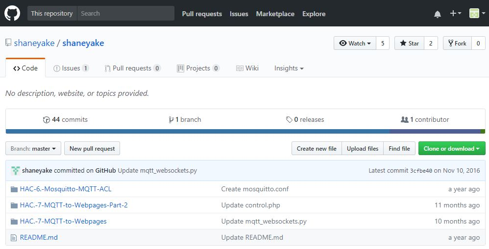 Blog of Wei-Hsiung Huang: Raspberry Pi - Setting up MQTT to
