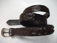 thắt lưng da cá sấu l13
