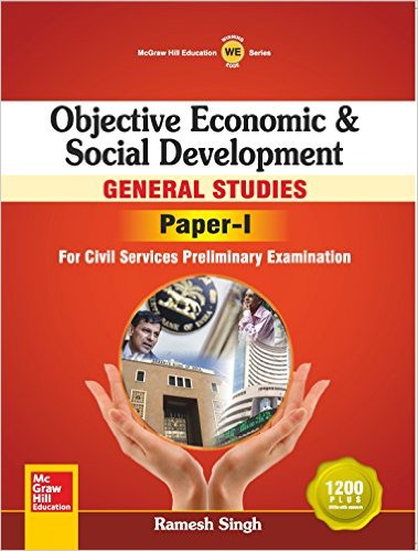 Objective Economic & Social Development_ General Studies Paper I -  Ramesh Singh,