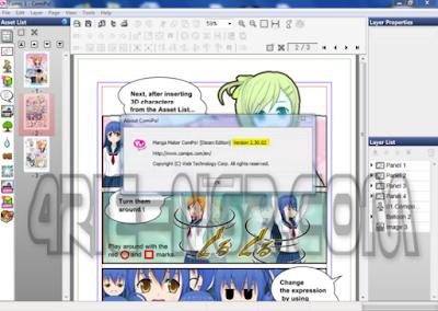 Manga Maker Comipo 2.30.02 Full Terbaru