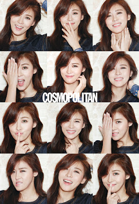 Ha Ji Won Cosmopolitan March 2016