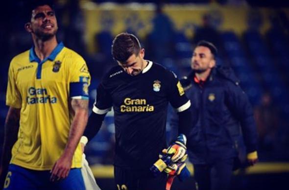 Javi Varas acabó lamentando su único error del partido