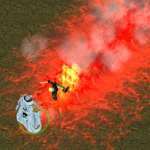 bleach vs one piece akainu eruption volcano