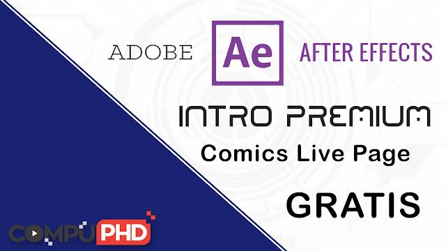 Intro Comics Live Page Gratis