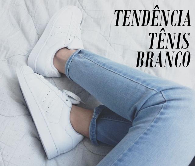 Tendencia: Tênis Branco