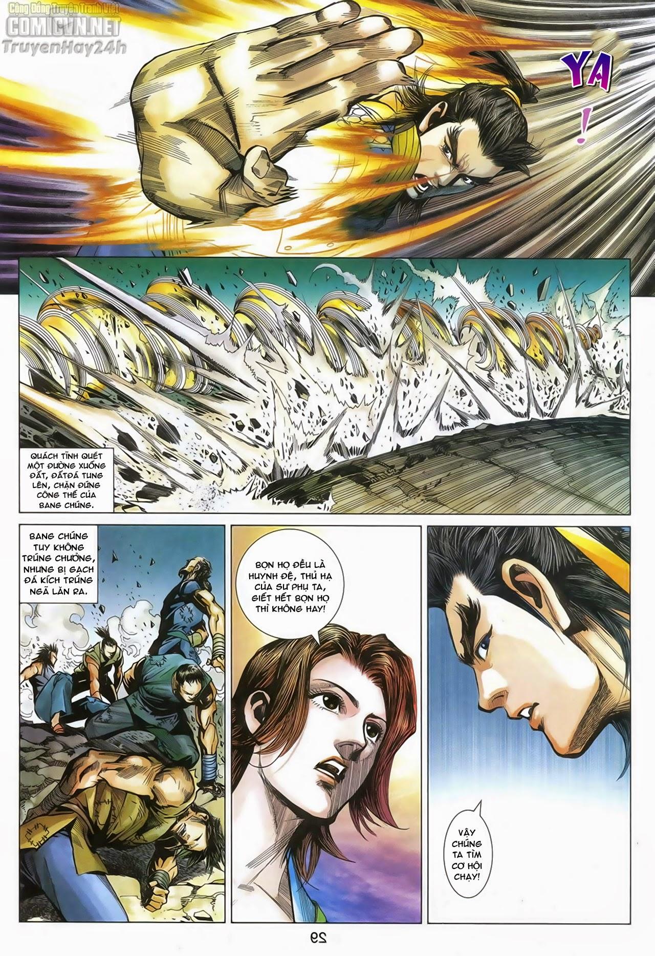 Anh Hùng Xạ Điêu anh hùng xạ đêu chap 67: quyết chiến hiên viên đài trang 28