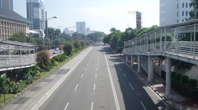 Jakarta Mulai Lengang