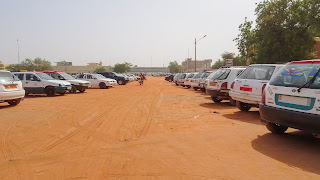 In Niger is sand everyhwere. Some say its red because of blood
