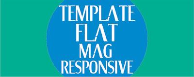Template Flat Mag Terbaru 2017 Download Gratis