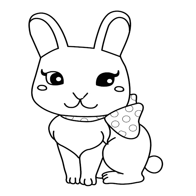 Bunny Coloring Pages Rabbit Coloring Pages Coloring Page Ideas